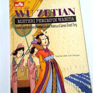 Komik Wu Ze Tian(Kaisar Wanita Cina)