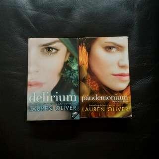 4 Delirium Series Books By Lauren Oliver