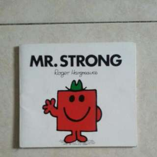 Mr Strong Books