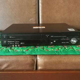 Panasonic VHS To DVD Recorder and Player