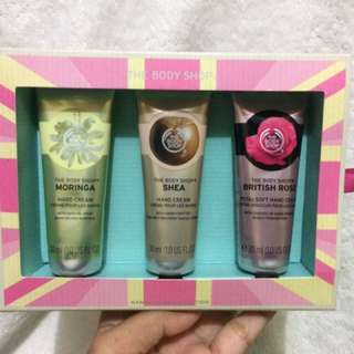 Body Shop Hand Cream Gift