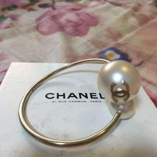Chanel double C Pearl Bangle / Bracelet