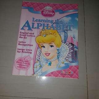 Preschooler Practice Alphabet Book