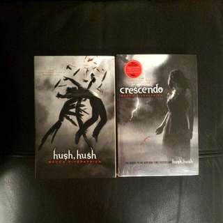 Hush Hush Saga By Becca Fitzpatrick