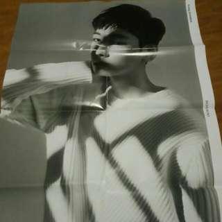 Seventeen: Going Seventeen Wonwoo Poster (folded)