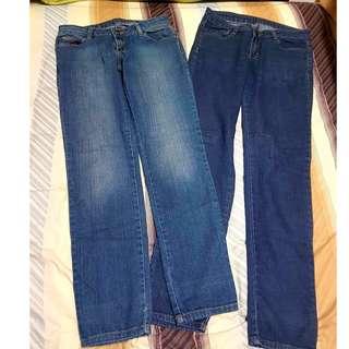 Two (2) pairs of Bench Regular Fit Denim Pants