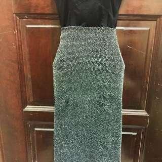 Dorothy Perkins Silver Skirt