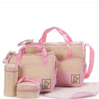 5 In 1 Baby Diaper Bag