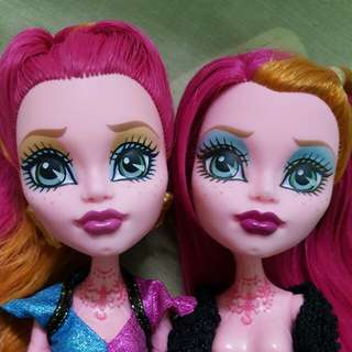 collecting Monster high Ever after high dolls