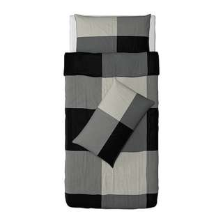 IKEA Brunkrissla Quilt Cover (Single) and 2 Pillowcases
