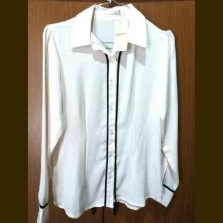 Broken White Shirt Accent