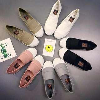 🚚 韓版時尚帆布鞋