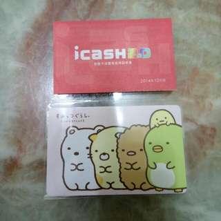 icash 2.0角落小夥伴-排排站i cash卡