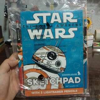 🚚 Star Wars Sketch Pad