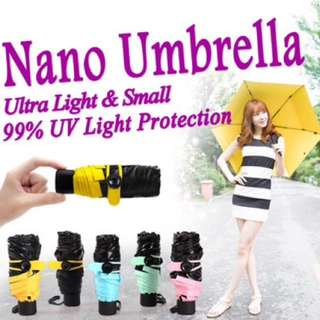 Nano Umbrella Payung Super Kecil Gagang C