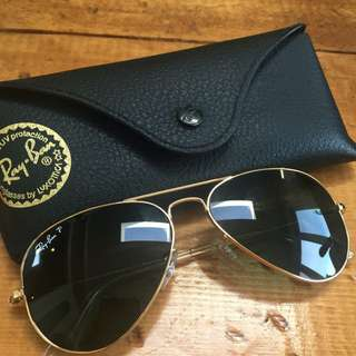 Polarized Ray Bans Small