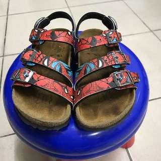 勃肯鞋男童涼鞋