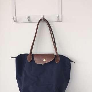 Authentic Navy Blue Longchamp Purse