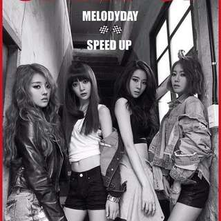 [Instock]Melodyday Speed Up Sealed