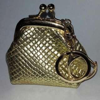 earrings 3 in 1 fancy heart & star designs w/ FREE MINI COIN PURSE! SET