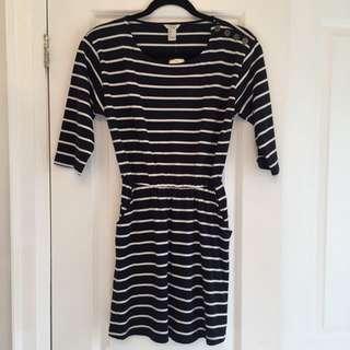 stripped dress