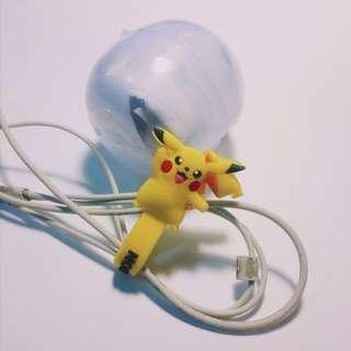 🚚 神奇寶貝 Pokémon 扭蛋公仔(答案在第四張照片) 皮卡丘 集線器 繞線器