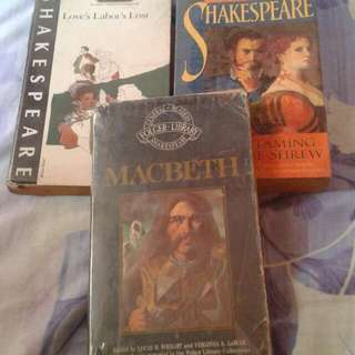 Shakespeare bundle