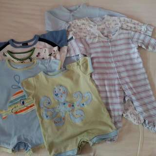Sleepusits Rompers 0-6m