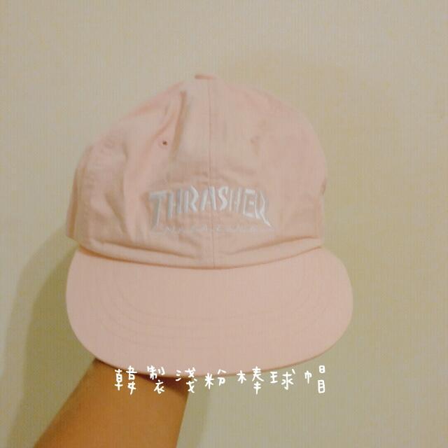 韓製淺粉棒球帽