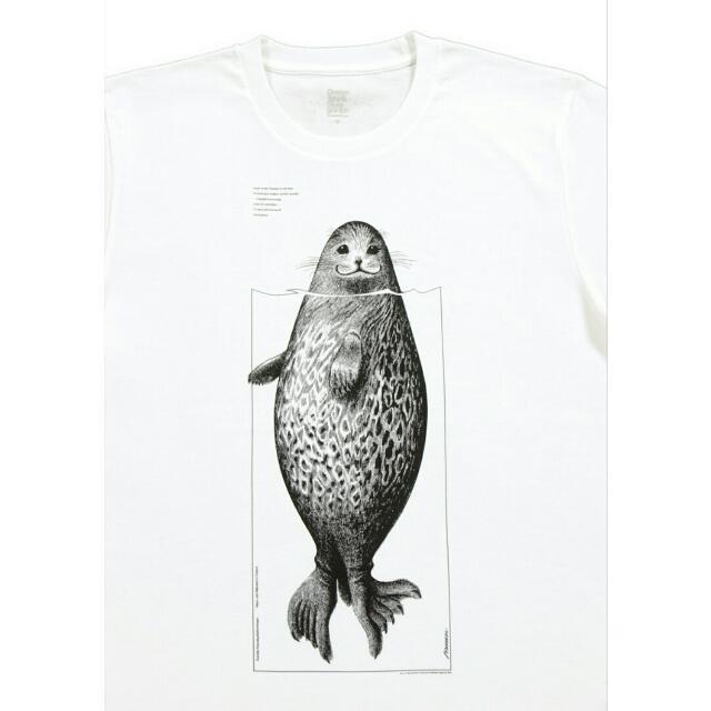 [日本.東京] 原宿 Design Tshirt Store graniph  時尚潮T專賣店 海豹