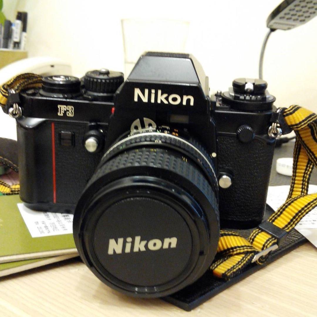 經典 Nikon F3 底片機 + Nikkor 35-70mm 3.5-4.5 鏡頭