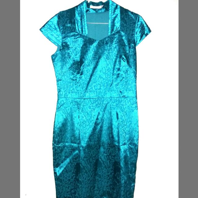 Accent Blue Tosca Dress