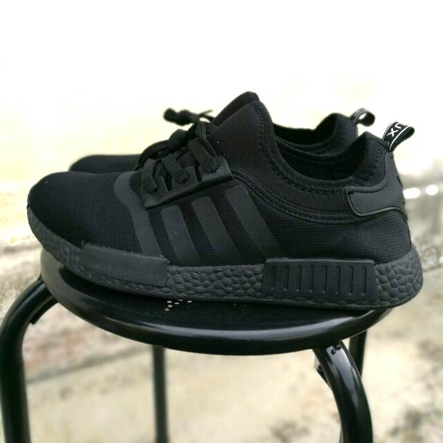 pretty nice c886c 3a458 ADIDAS NMD ALL BLACK