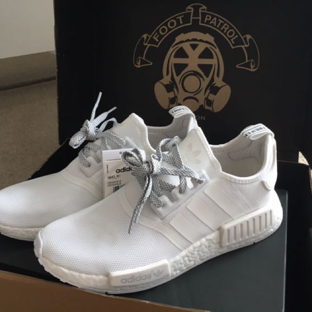 Adidas NMD Triple White Reflective US 9.5