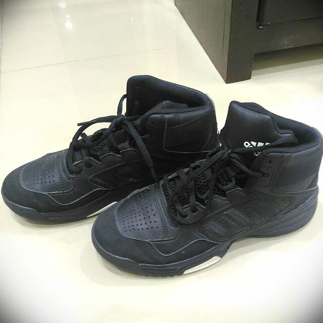 Adidas Ortholite Black Rubbershoes