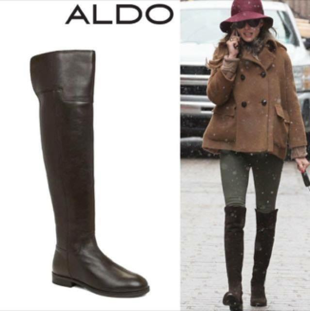 ALDO Frido 長筒過膝靴 棕色