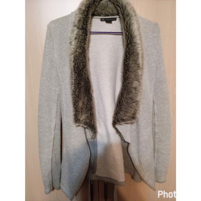Armani毛外套