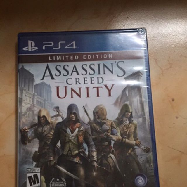 Assassin's Creed Unity Limited Edition (Sealed)