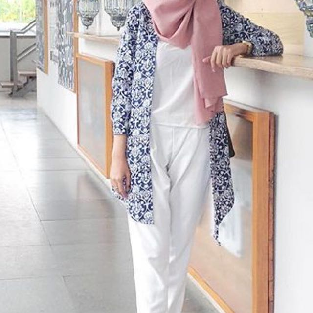 Atasan Muslim Baju Dress