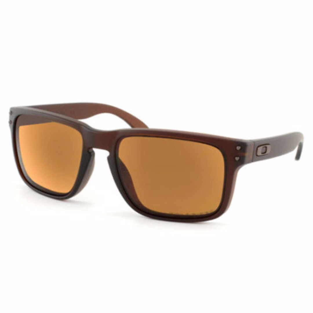 263b3cd6a3d7 Authentic Brand New in Box Oakley Holbrook Matte Rootbeer w Bronze ...