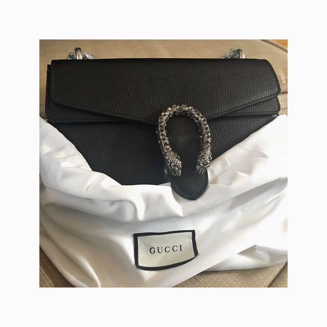 Quick Sale💗GUCCI Dionysus Leather Shoulder Bag