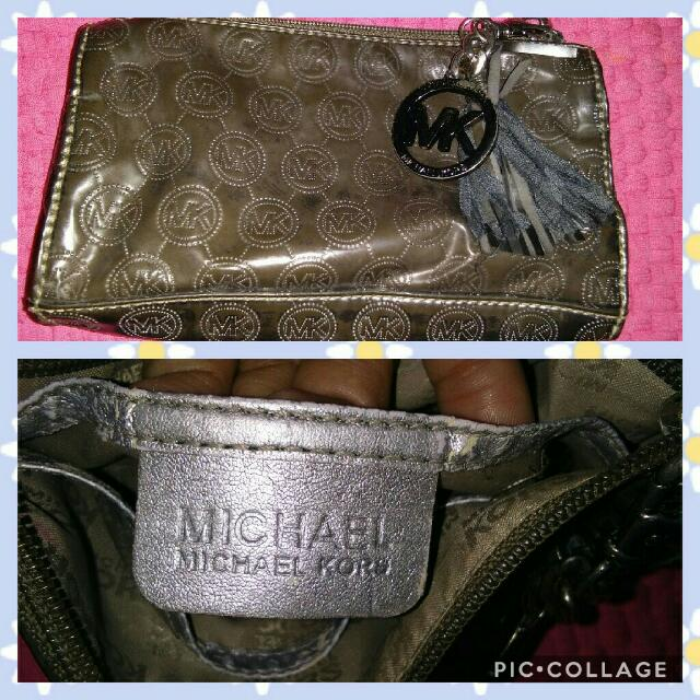 Authentic MK Clutch Bag