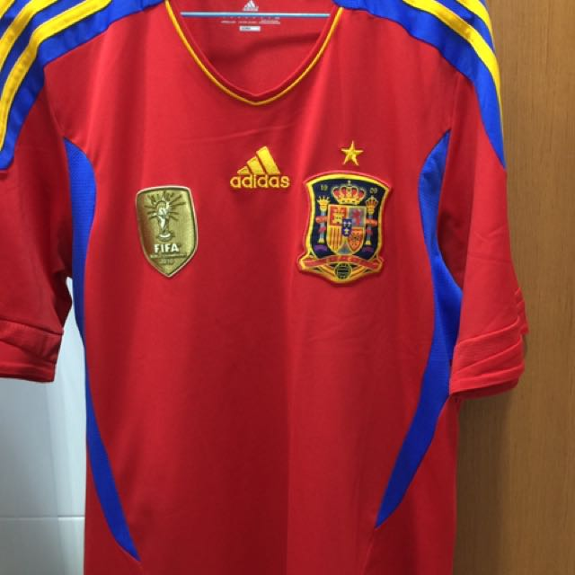 the best attitude b6949 dbe3f Authentic Spain Jersey World Cup, Adidas, Football