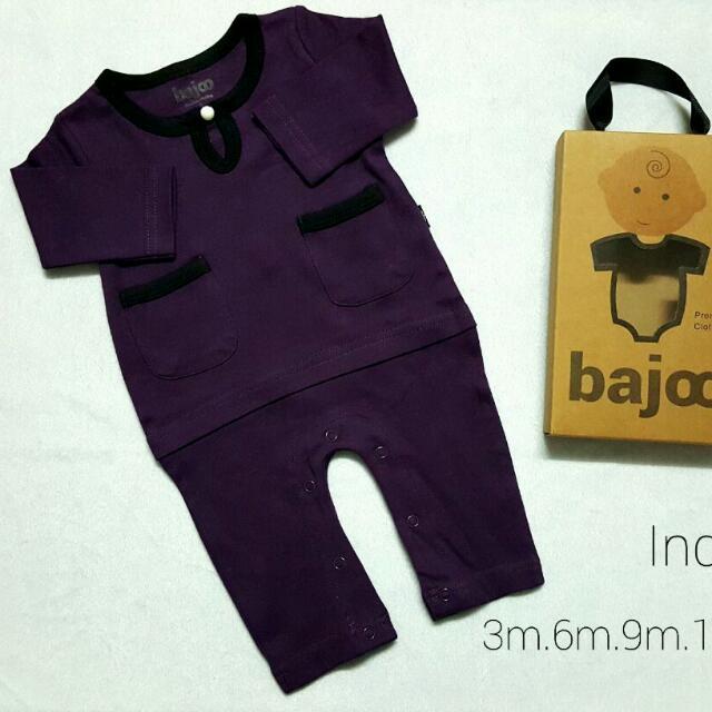 Baju Romper Melayu Baby Boy 8a35379197
