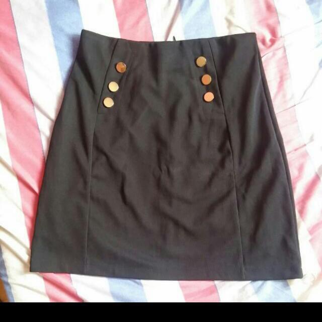 Bayo Black Skirt Brand New, Tags Still Attached