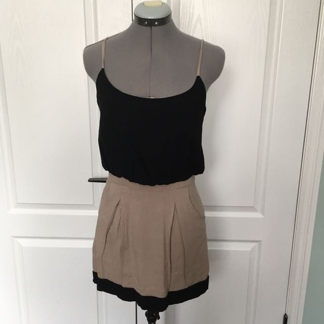 Black And brown Dress size Small