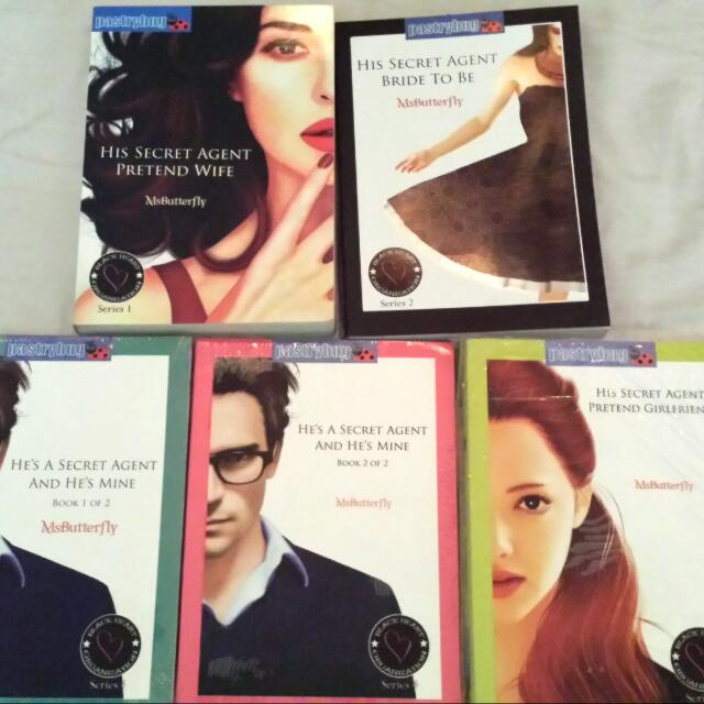 Black Heart Organization: Secret Agent Series 100.00 Peses Each Only!!!  With Free Book Mark  Meet up Lrt baclaran station, SM Sucat, SM Bf  Txt Or Call Me: 09066154035