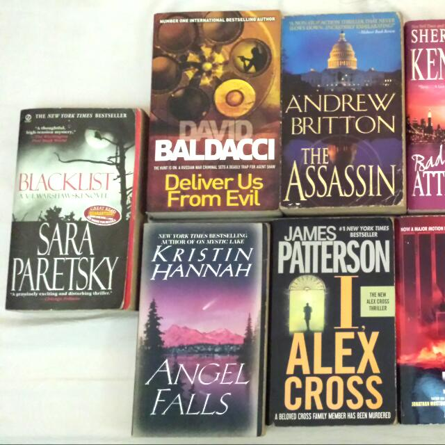 Blacklist Angel Falls Deliver Us From Evil The Assasin I, Alex Cross Bad Attitude V-571 Captain Courageous Angels And Demons Fair Haven Wicked Woman  Meet up Lrt baclaran station, SM Sucat, SM Bf  80.00 Pesos Only!!!!  Txt Or Call Me: 09066154035