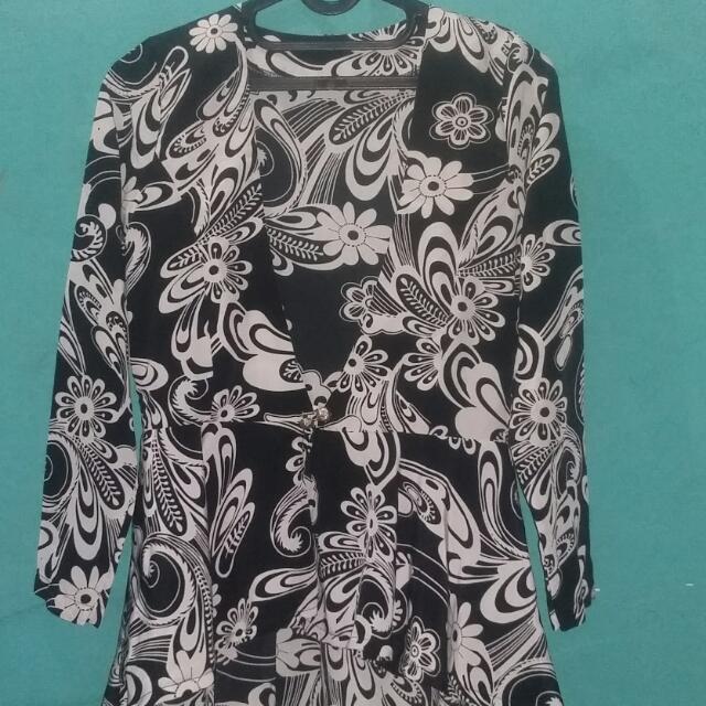 Blezer Batik Sifon