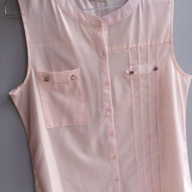 Blouse Pink Gaudi